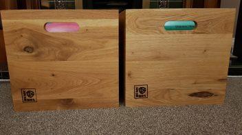 Music Box vinyl storage